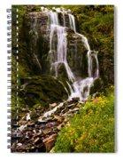 Crater Lake Falls Spiral Notebook