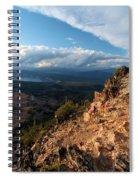 Crater Lake Mountains Spiral Notebook