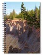 Crater Lake Pinnacles Spiral Notebook