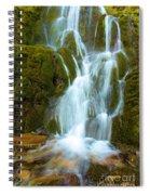 Crater Lake Vidae Falls Spiral Notebook