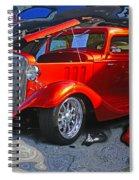 Crazy Background Spiral Notebook