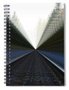 Crazy Tracks Spiral Notebook