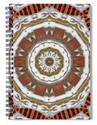 Creame Cake Abstracte Spiral Notebook