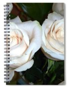 Creamy Roses I Spiral Notebook