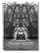 Creation 325 Bw Spiral Notebook