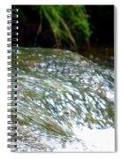Creek Water Splash Spiral Notebook