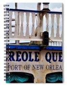 Creole Queen Spiral Notebook