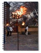 Cressets Light The Way Spiral Notebook