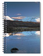 Crianlarich Sunset Spiral Notebook