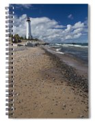 Crisp Point Lighthouse 14 Spiral Notebook
