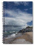 Crisp Point Lighthouse 5 Spiral Notebook