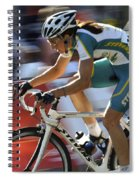 Criterium Bicycle Race 2 Spiral Notebook