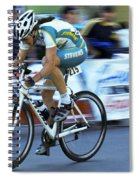 Criterium Bicycle Race 3 Spiral Notebook