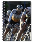 Criterium Bicycle Race 5 Spiral Notebook
