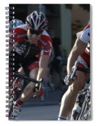 Criterium Bicycle Race 7 Spiral Notebook