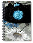 Crochet Camera Bw Spiral Notebook