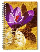 Crocus Graphic  Spiral Notebook