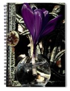 Crocus In A Bottle Number Two Spiral Notebook