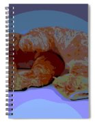 Croissants In Love Spiral Notebook