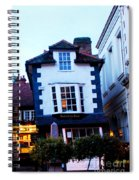 Crooked House Of Windsor Spiral Notebook