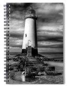 Crooked Lighthouse Spiral Notebook