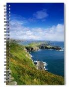 Crookhaven, Co Cork, Ireland Most Spiral Notebook