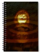 Crop Circles Spiral Notebook