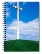Cross Built For The Late Pope John Paul Spiral Notebook