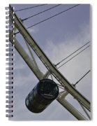 Cross Section Of The Singapore Flyer Spiral Notebook