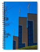 Crosses Of Livingway Church Spiral Notebook