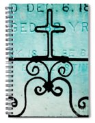 Crosses Voided Spiral Notebook