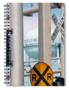 Crossing Signs Spiral Notebook