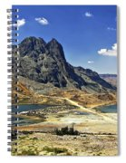 Crossing The Andes Spiral Notebook