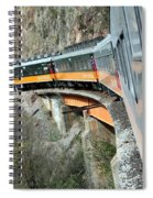 Crossing The Bridge Spiral Notebook