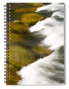 Crossing The Creek Spiral Notebook