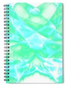 Crossing Waves Spiral Notebook