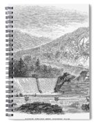 Croton Dam, 1860 Spiral Notebook