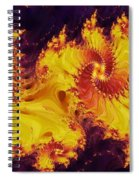 Crown Of The Potentate Spiral Notebook