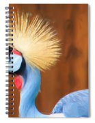 Crowned Crane Spiral Notebook
