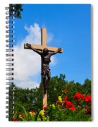 Crucifix In Indian River Spiral Notebook