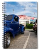 Cruise Night At The Diner Spiral Notebook