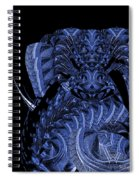 Cryptic Triptych  IIi Spiral Notebook