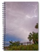 Crystal Beach Electrified Spiral Notebook