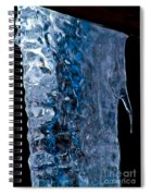 Crystal Blue Spiral Notebook