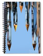 Crystal Cathedral Tower Points Spiral Notebook