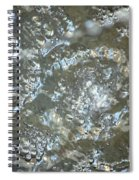 Crystal Clear Bubbles Spiral Notebook