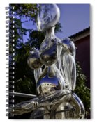 Crystal Lady Spiral Notebook