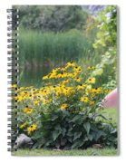 Crystal Lake State Park In Barton Vermont Spiral Notebook