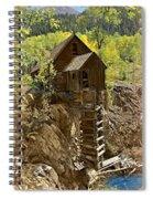 Crystal Mill 1 Spiral Notebook
