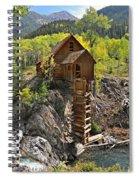 Crystal Mill 4 Spiral Notebook